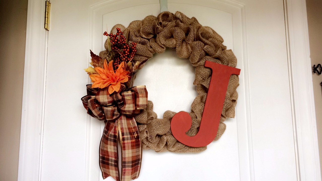 [My First Fall Burlap Wreaths!]